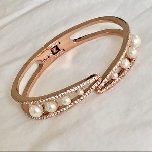 Chloe + Isabel Sparkling Rosé Hinged Bracelet